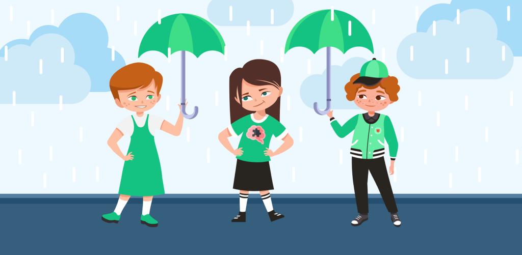logic puzzle about rain