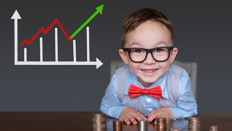 stock market for children