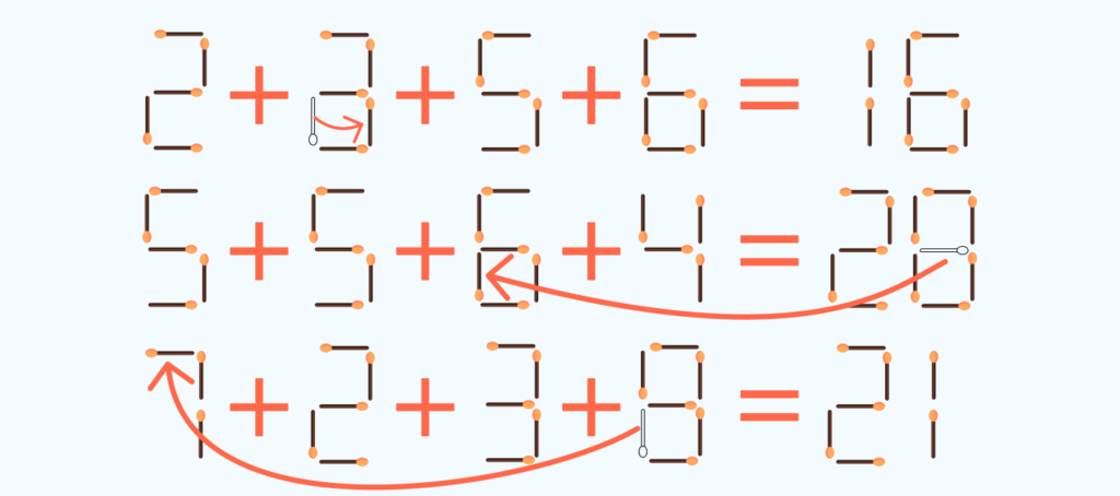 answer to the matchstick puzzle # 2
