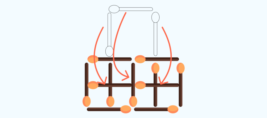 answer to the matchstick puzzle # 5