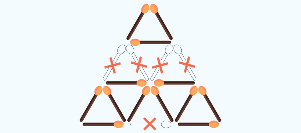 answer to the matchstick puzzle # 7