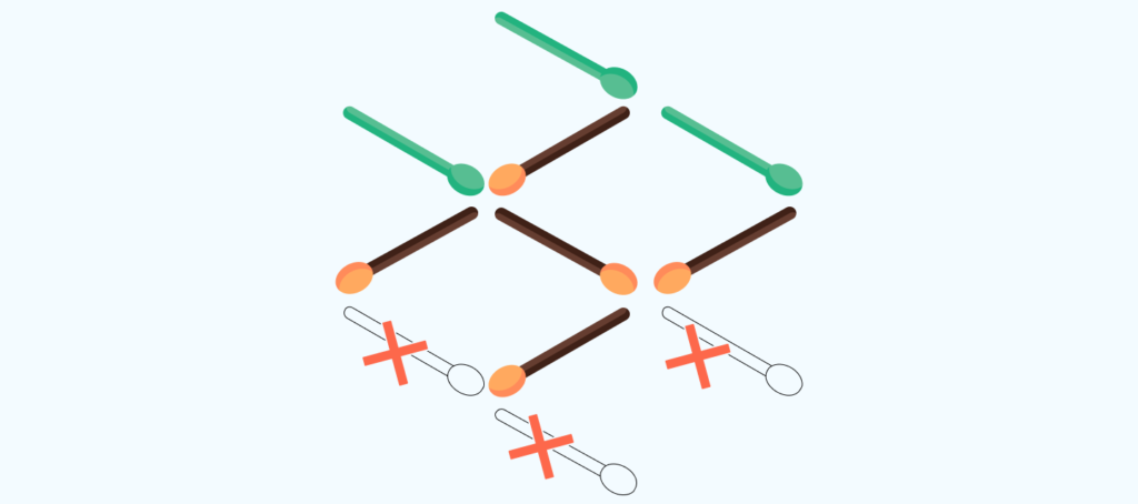 answer to the matchstick puzzle # 9