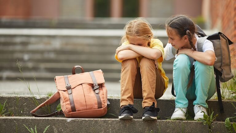 help a child with bullying
