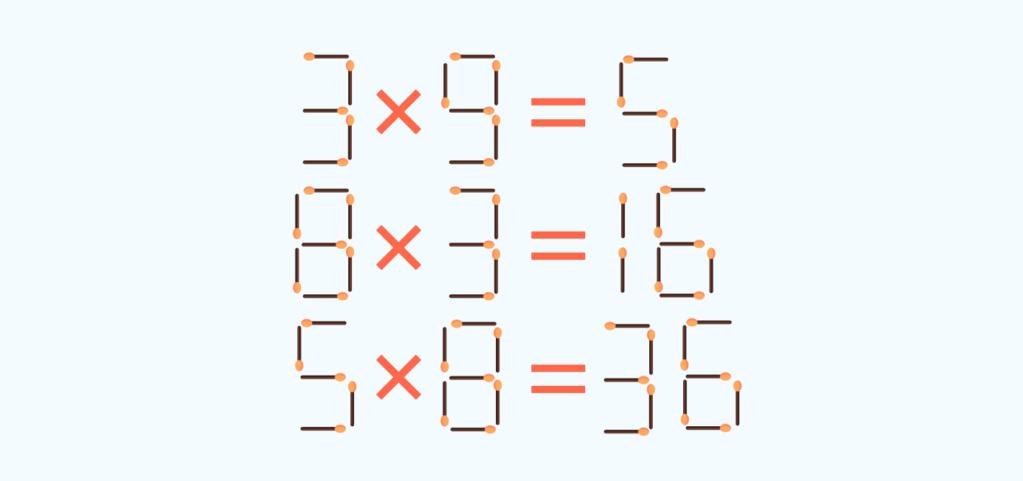 matchstick puzzle # 1