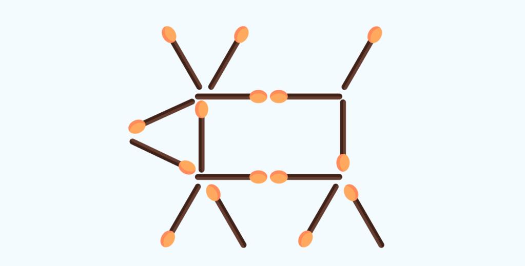 matchstick puzzle # 8