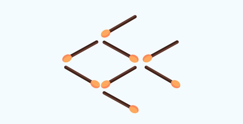 matchstick puzzle # 9
