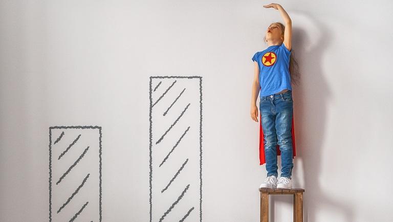 self-esteem levels in kids