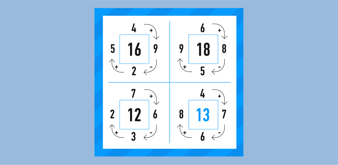 answer to math puzzle #9