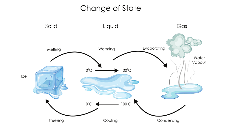 states of matter for kids