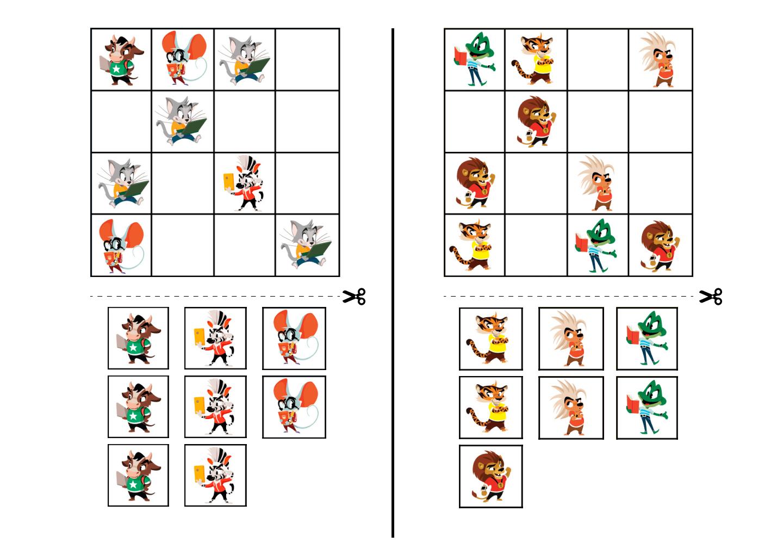 sudoku for kids 4x4