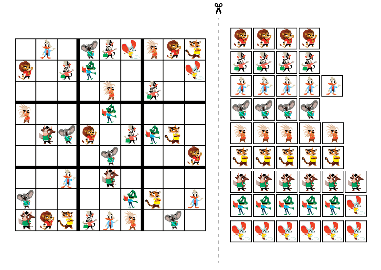sudoku for kids 9x9