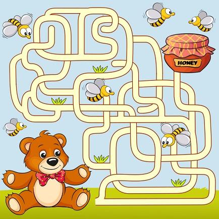 children maze