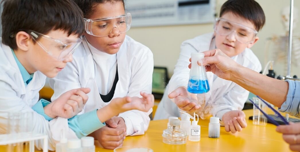 Chemistry for kids: chemical reactions