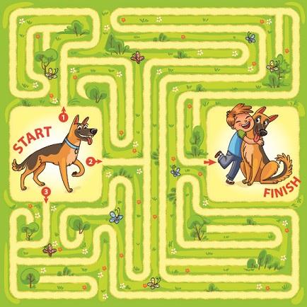 maze print out