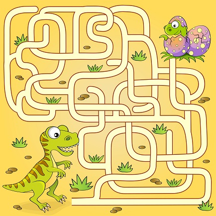 printable maze puzzle
