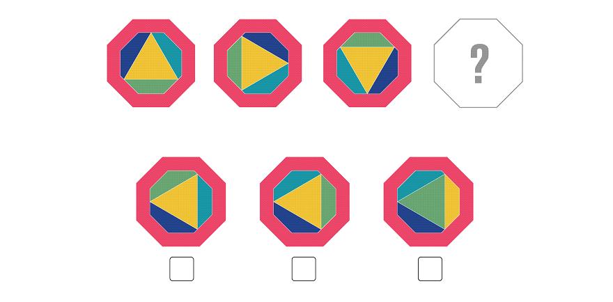 visual logic puzzle